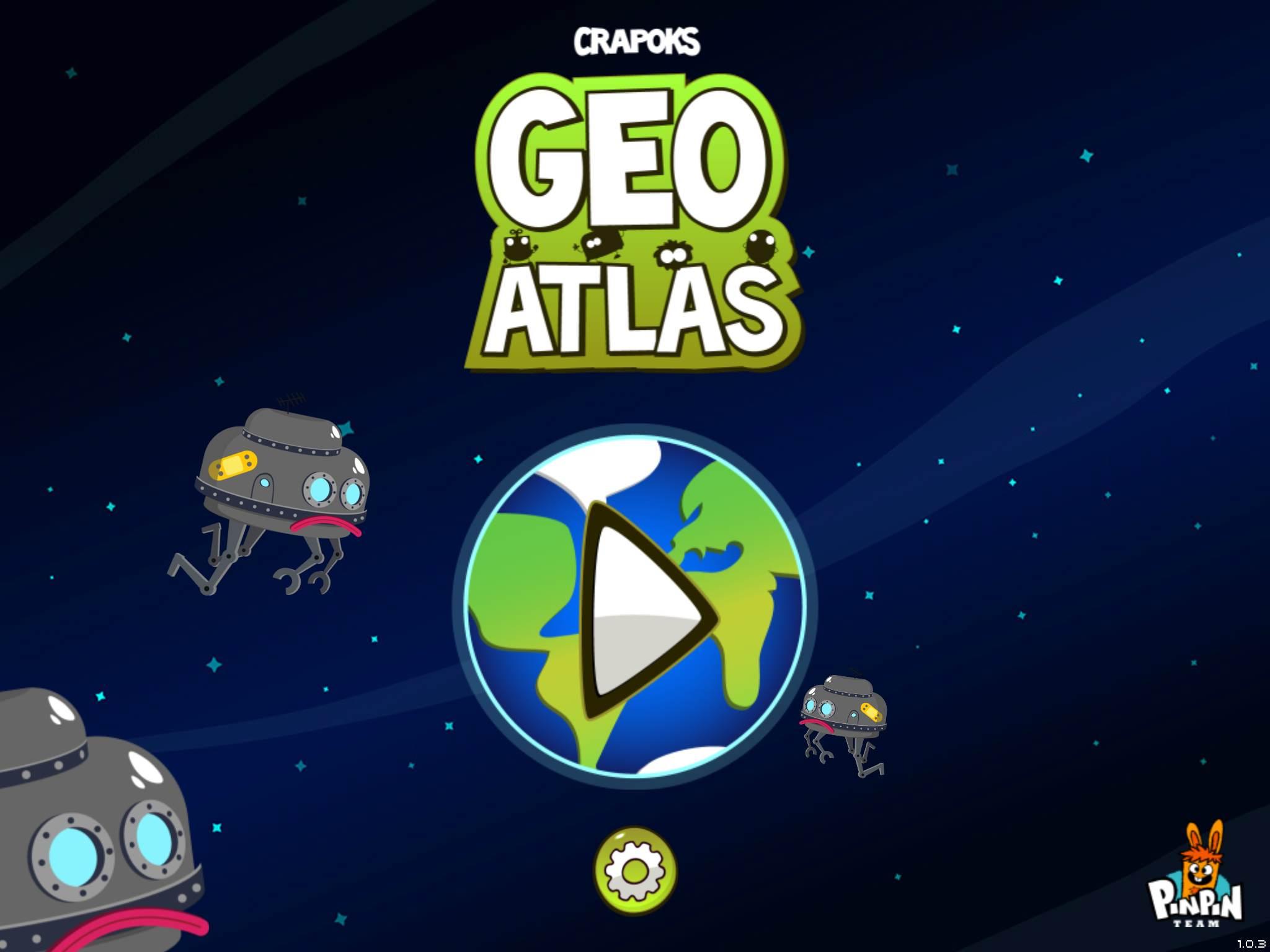 Crapoks Geo Atlas : Révision Géographique Ludique Sur Apple encequiconcerne Jeux Géographique
