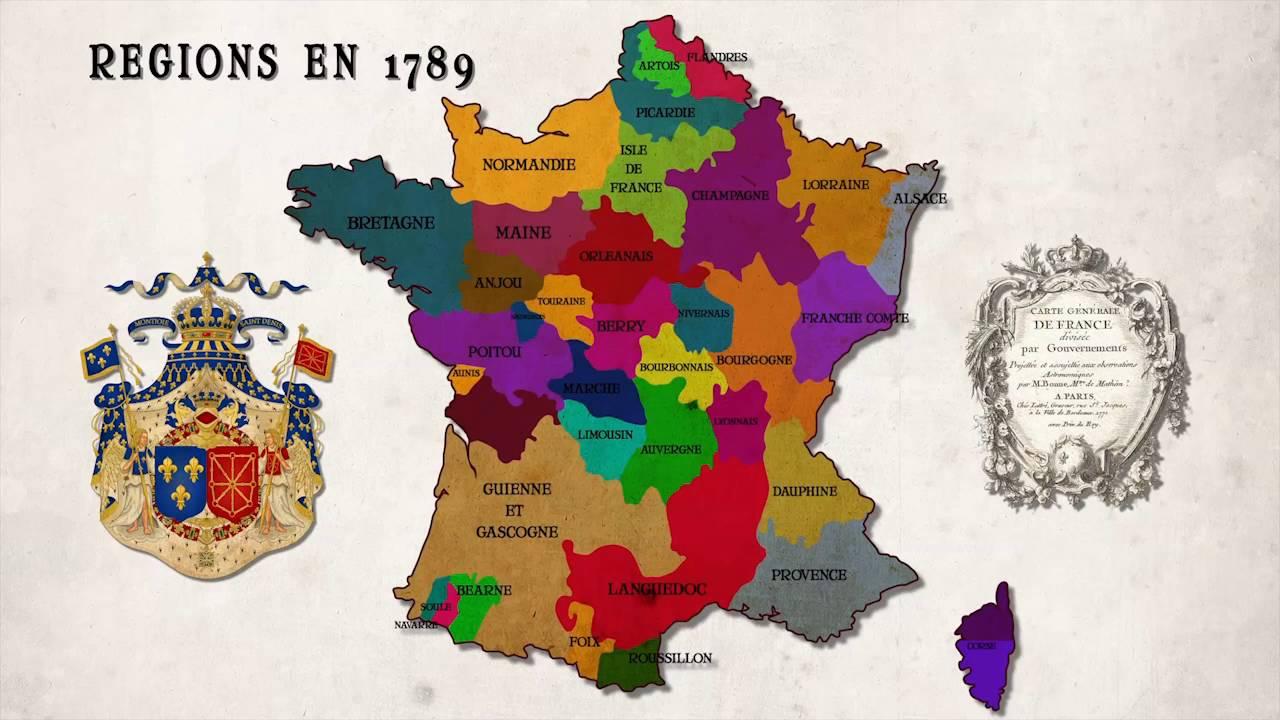 Création Des Départements Français concernant Carte Departements Francais