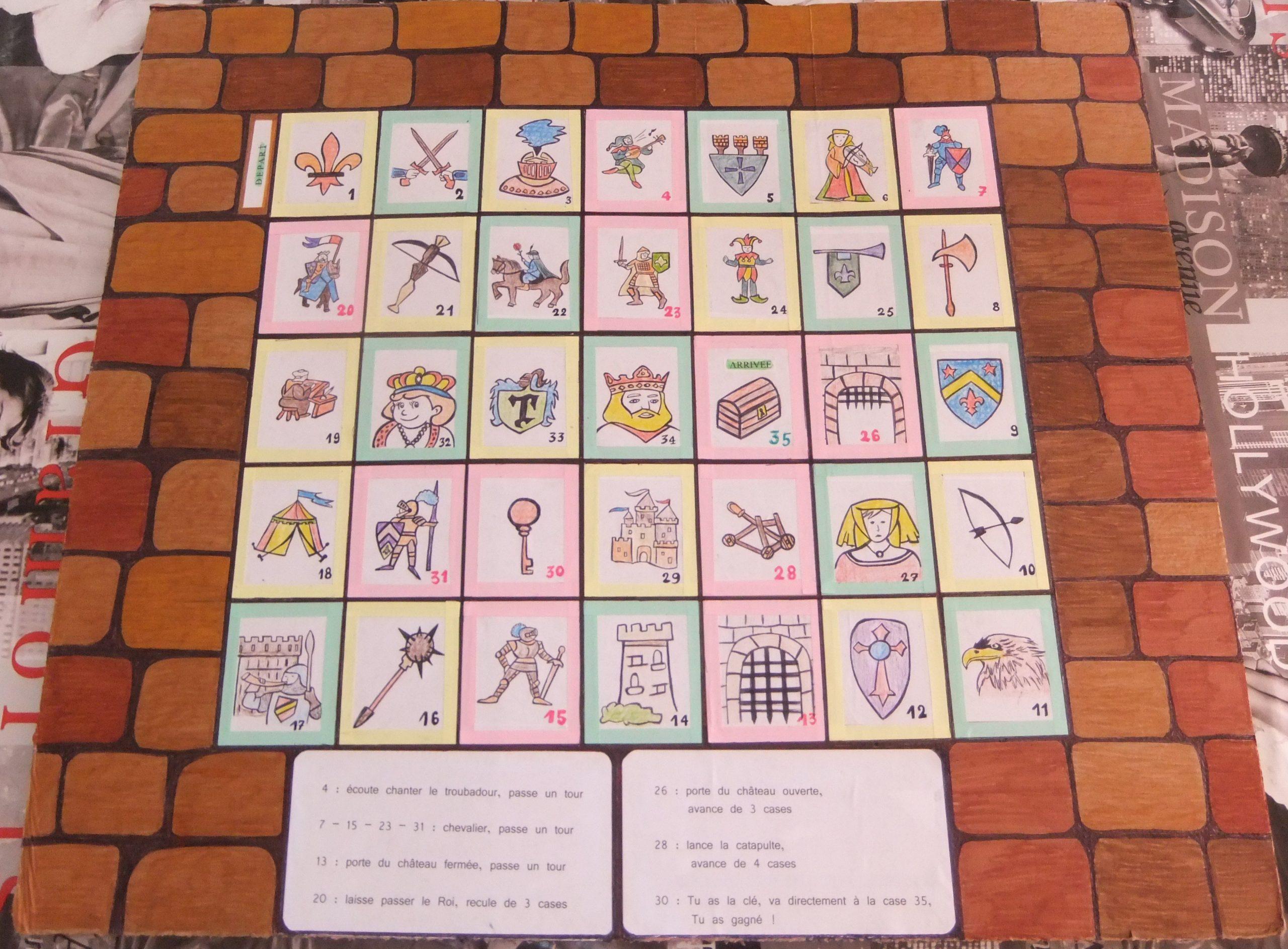 Création Et Fabrication D'un Jeu Pour Enfants 5/8 Ans intérieur Jeux Enfant De 5 Ans