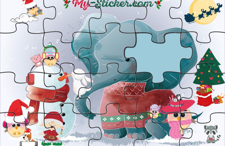 Créer Un Puzzle [À Imprimer] Pour Enfant ⋆ Blog My Sticker avec Puzzle En Ligne Enfant