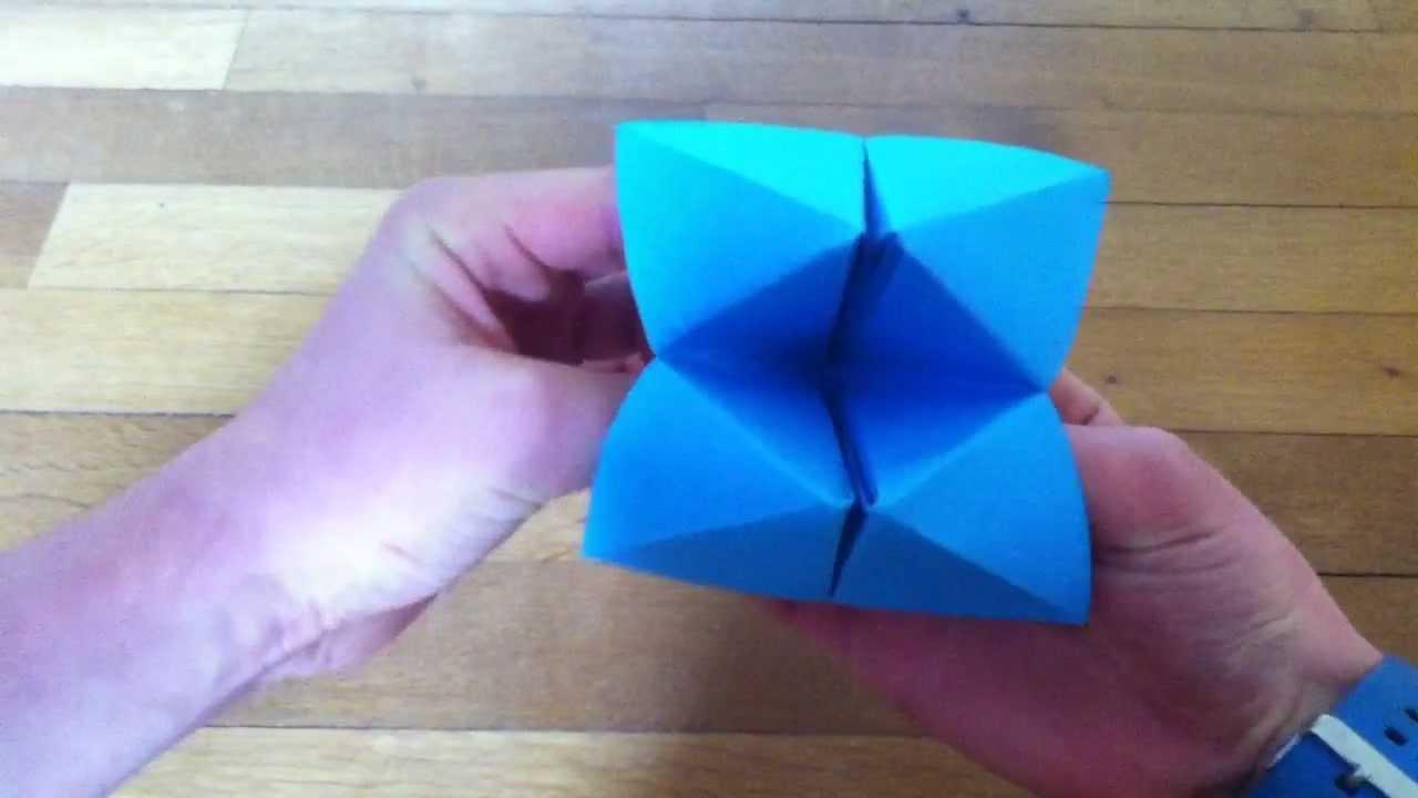 Créer Une Cocotte En Papier - Pliage Jeu Papier pour Pliage Papier Enfant