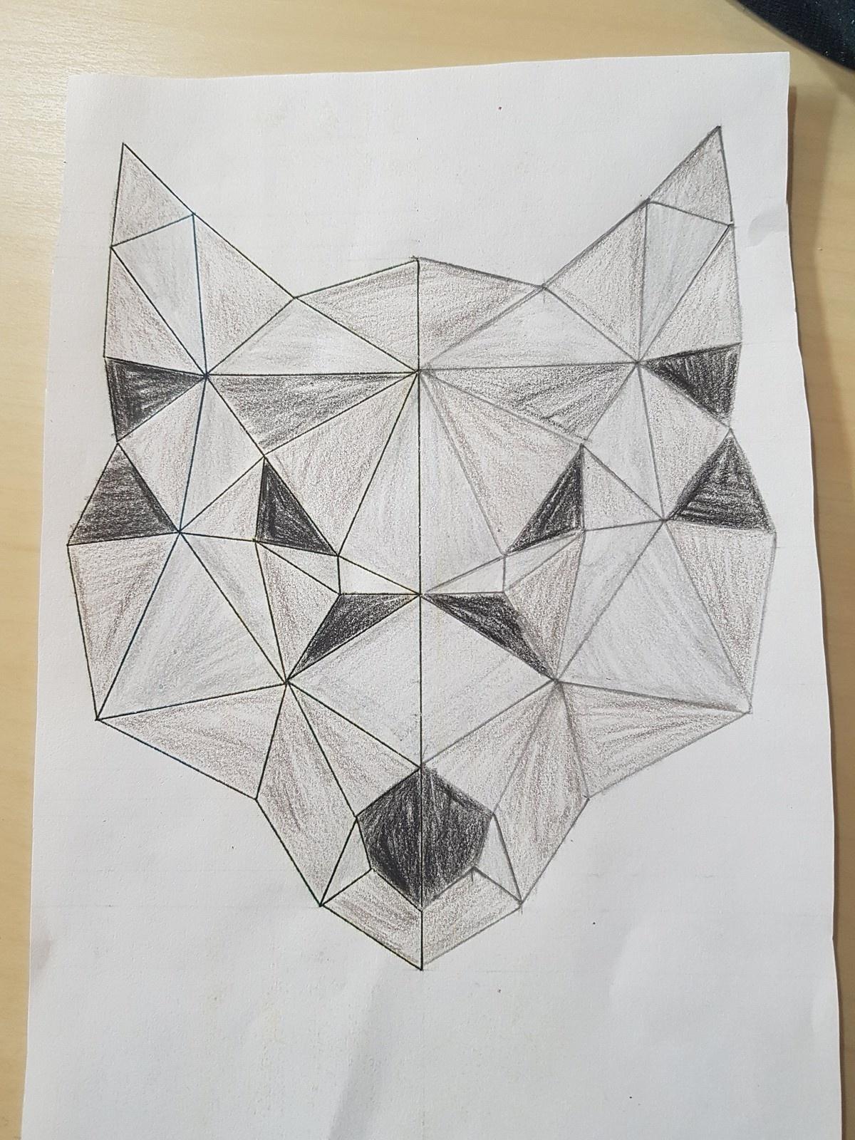 Croc Blanc - Les Ateliers De Cathy destiné Arts Visuels Symétrie