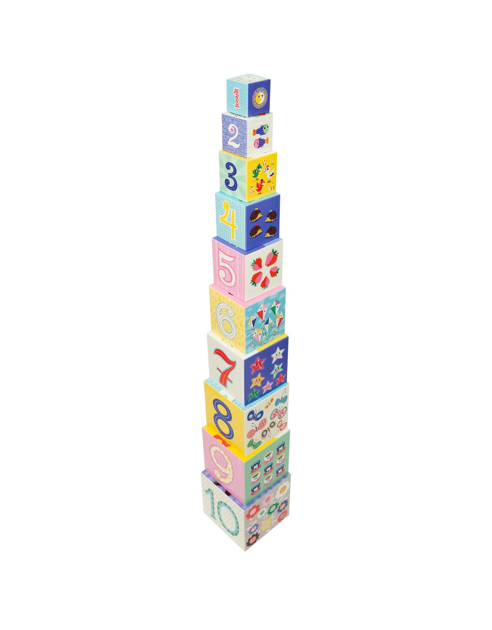 Cubes À Empiler - Lettres, Chiffres, Animaux Et Objets dedans Gros Chiffres À Imprimer