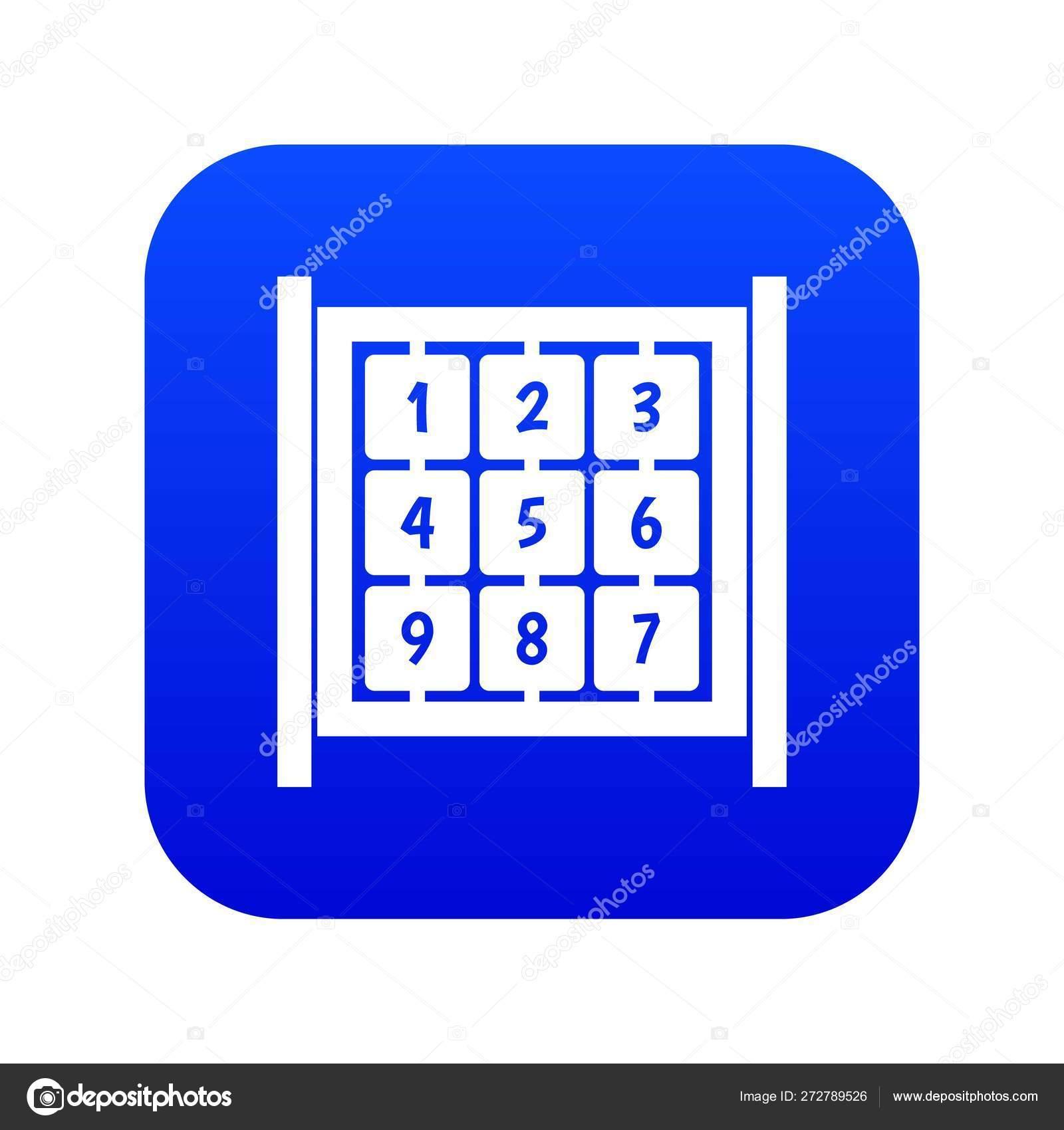 Cubes Avec Des Nombres Sur Le Bleu Numérique Numérique D encequiconcerne Jeux Avec Des Nombres