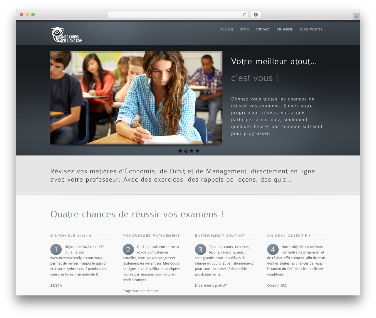 Cus Wordpress Page Template By Mysitemyway à Quiz En Ligne Gratuit