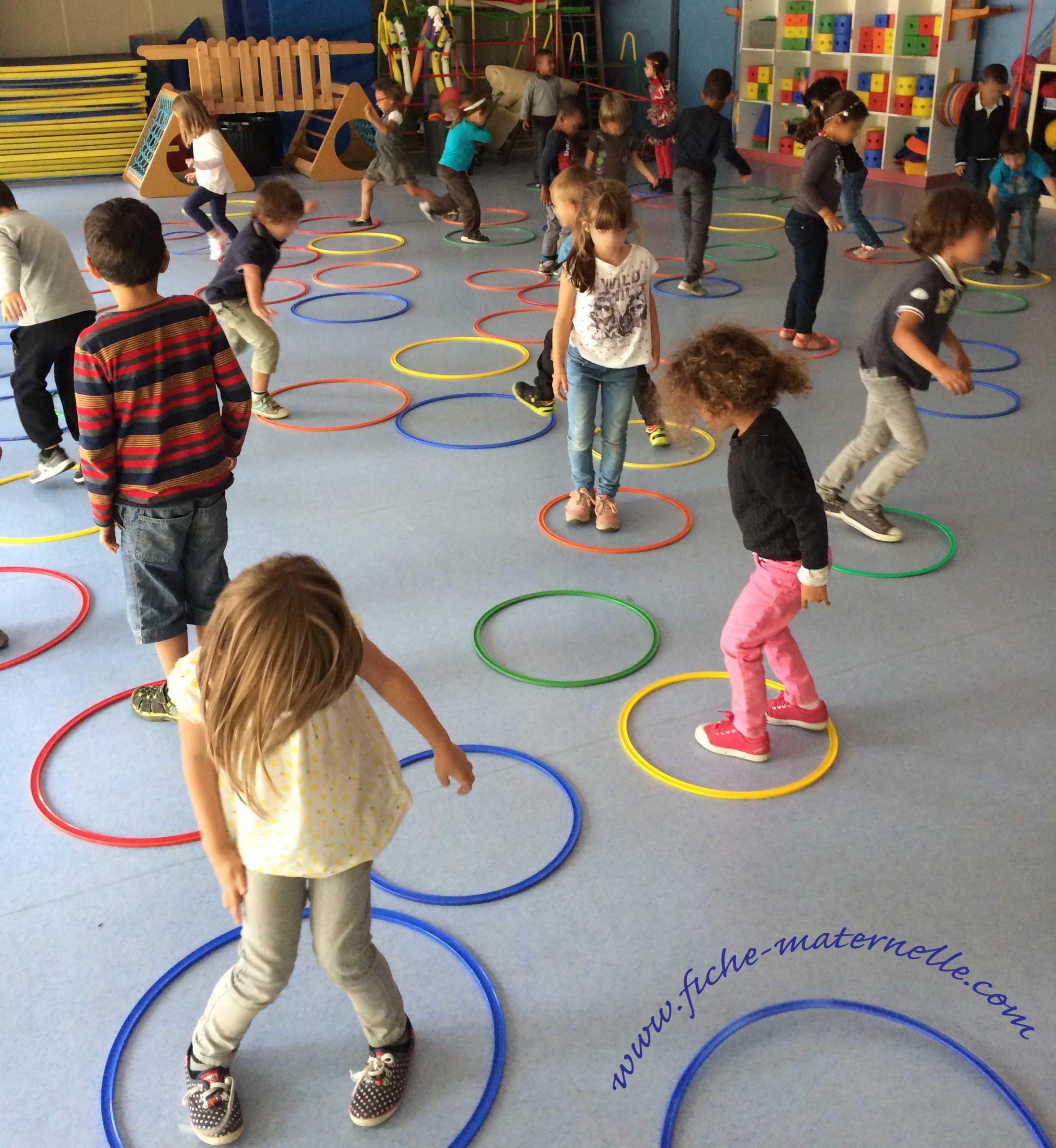 Dans La Salle De Jeu | Jeux Collectifs Maternelle, Motricité dedans Jeux Ludique Maternelle