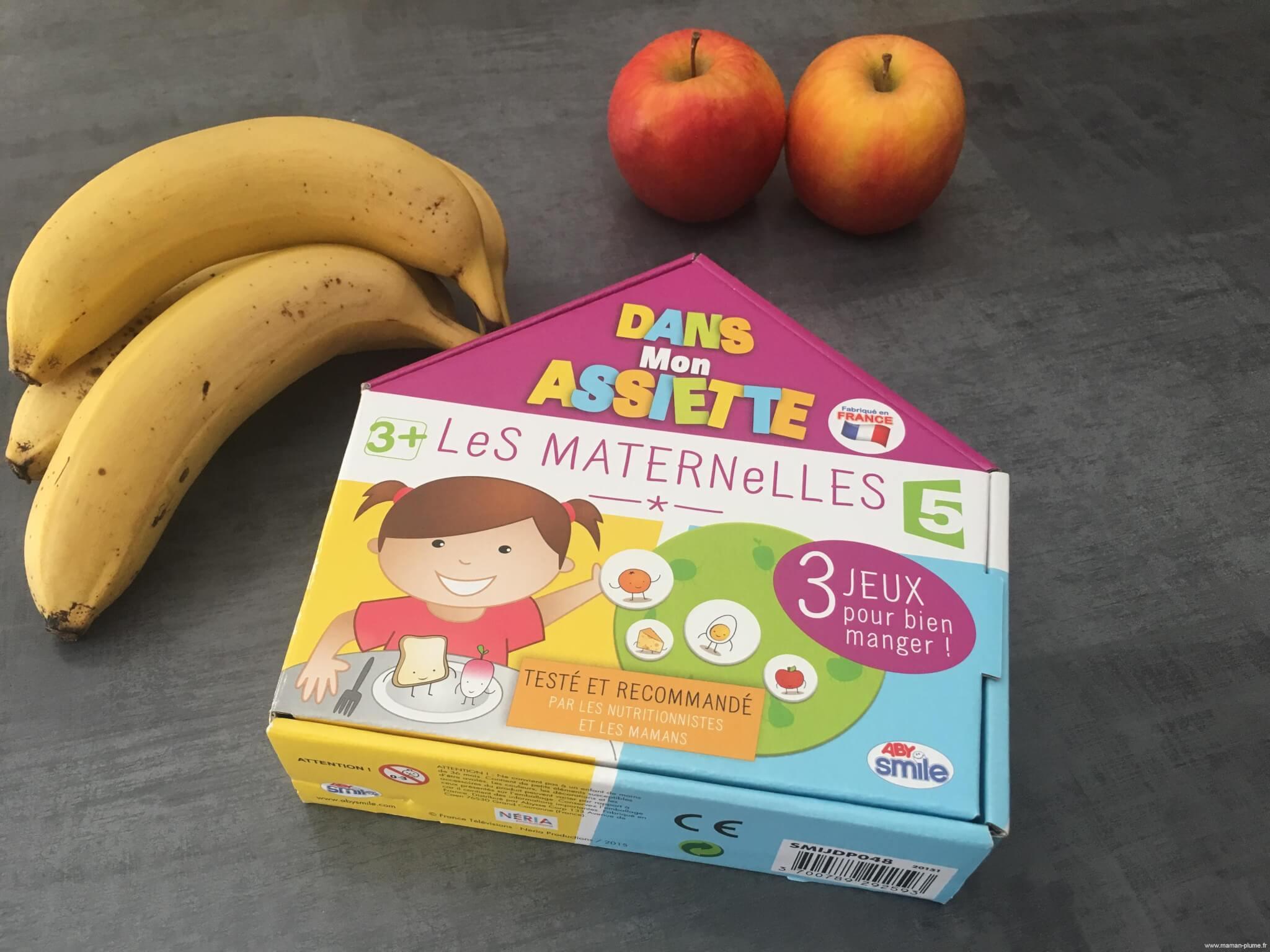 Dans Mon Assiette, Un Jeu Abysmile Des Maternelles ! | Le avec Jeux Pour Manger