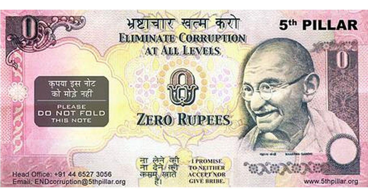 De La Fausse Monnaie Pour Combattre La Corruption En Inde concernant Faux Billet A Imprimer
