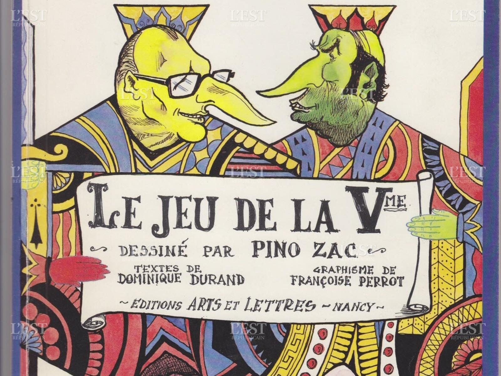 """De La Giscarte Censurée Au """"jeu De La Ve"""", Les Pieds De Nez intérieur Jeu Carte De France"""