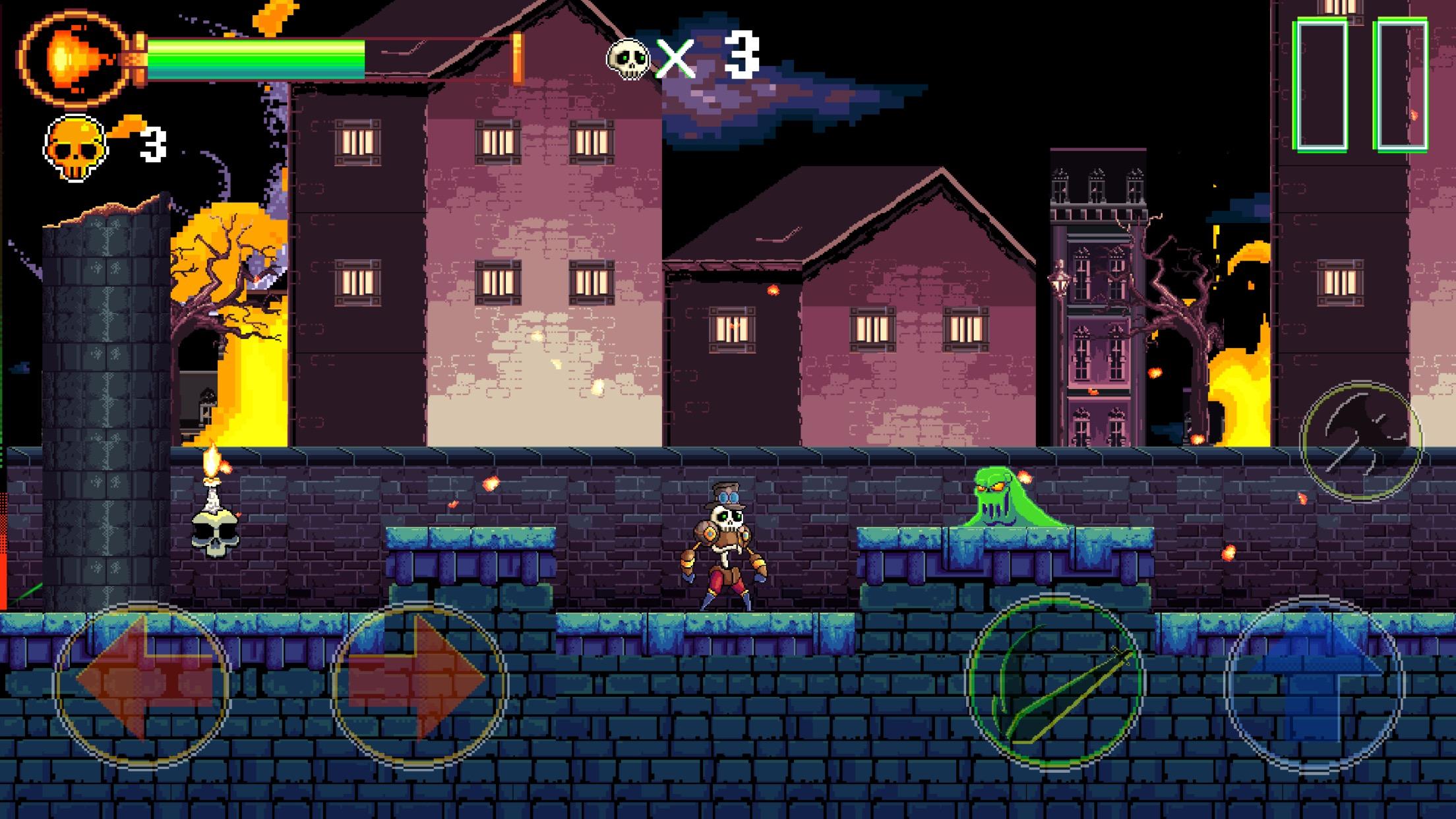 De L'action, Des Pixels Et Des Fantômes À Éliminer dedans Jeux De Squelette Gratuit