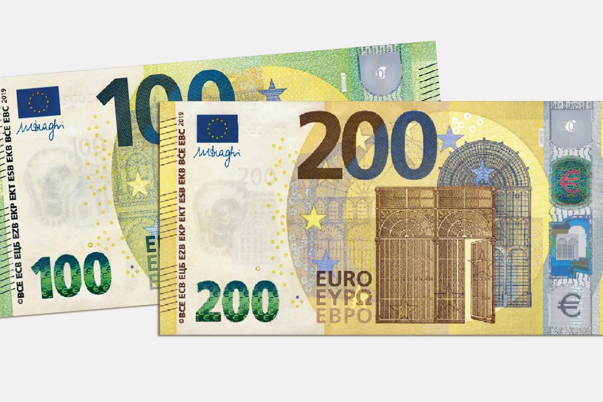 De Nouveaux Billets De 100 € Et 200 € À Compter Du 28 Mai avec Billet De 5 Euros À Imprimer