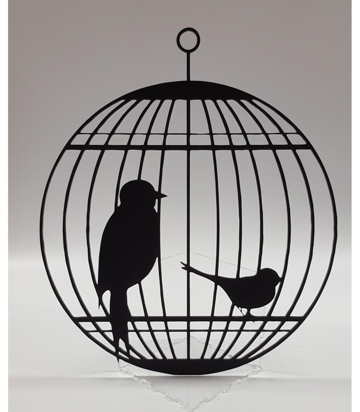 Décoration Cage Et Oiseau pour Dessin De Cage D Oiseau