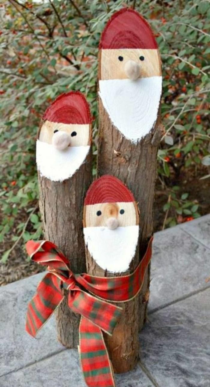 Décorations De Noël À Faire Soi-Même - 60 Photos D'idées Diy destiné Fabrication De Pere Noel