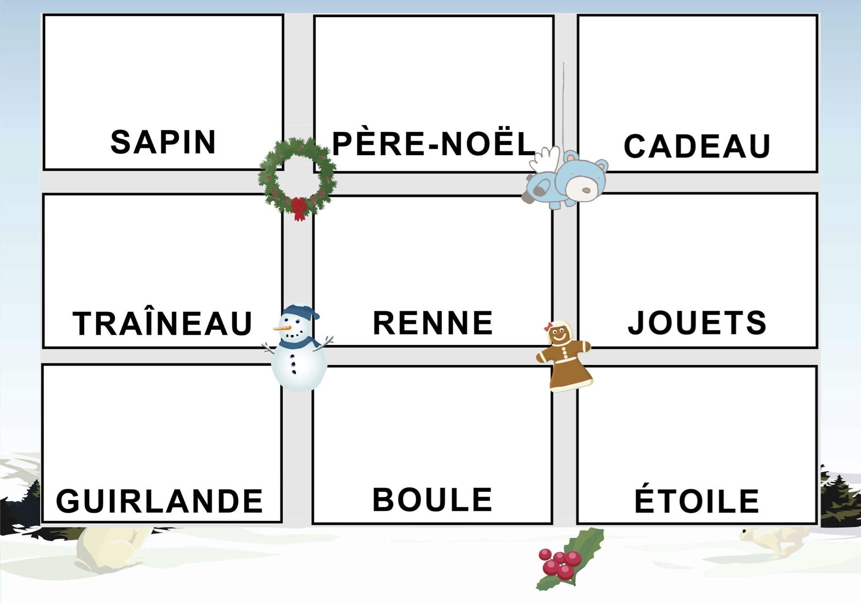 Découpage/collage De Noël - La Classe De Luccia ! encequiconcerne Jeux De Découpage