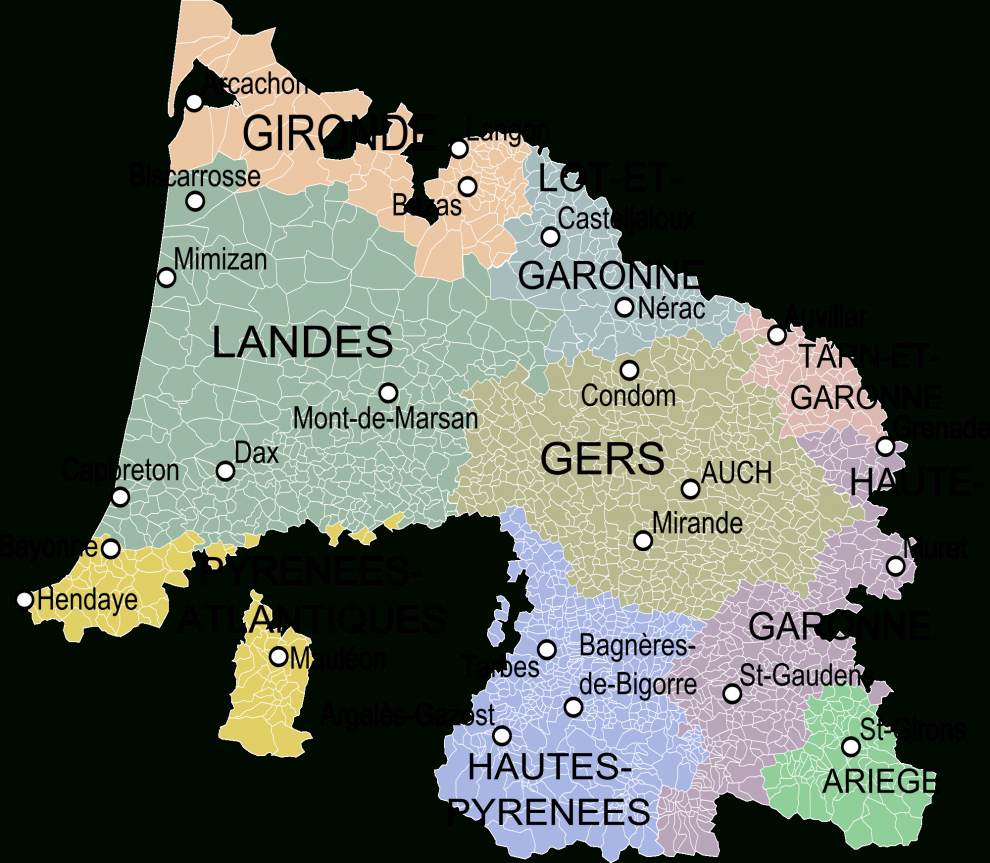 Découpage Du Territoire Métropolitain — Violoneux.fr encequiconcerne Anciennes Régions