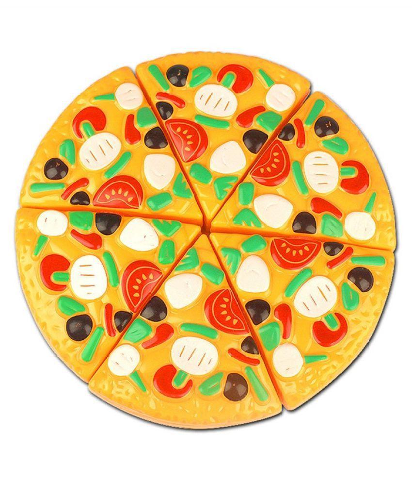 Découpage En Plastique Pizza Alimre Jouet De Cuisine concernant Decoupage Pour Enfant
