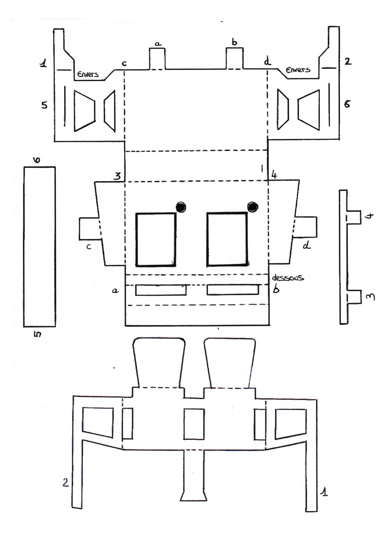 Découpages À Imprimer - Musée De La Tour Nivelle avec Decoupage A Imprimer