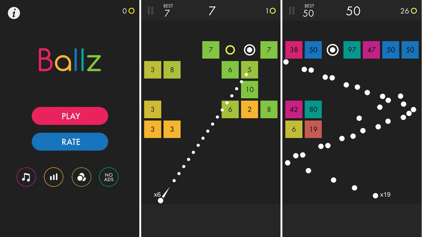 Découvrez Ballz, Le Jeu Numéro 1 Sur L'app Store Us tout Jeu Casse Brique