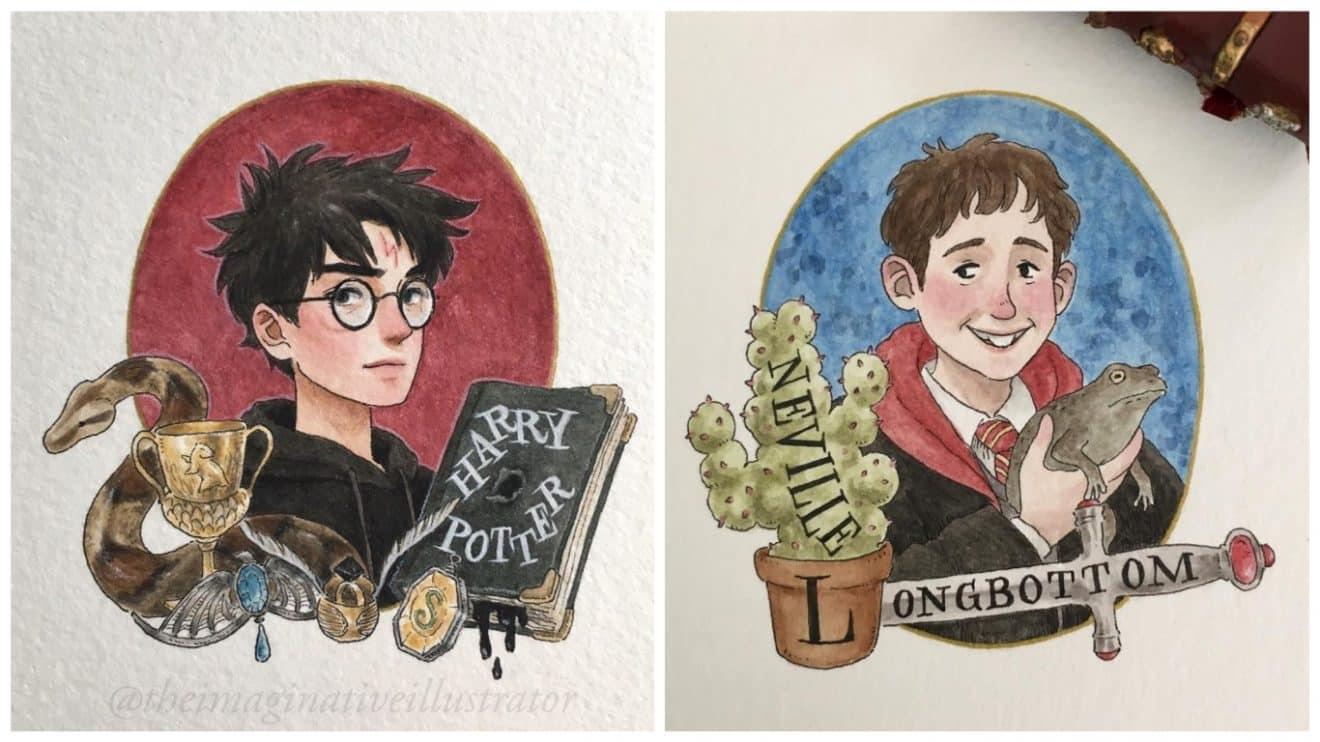 Découvrez Les Plus Beaux Dessins Inspirés De L'univers Harry intérieur Dessin D Harry Potter