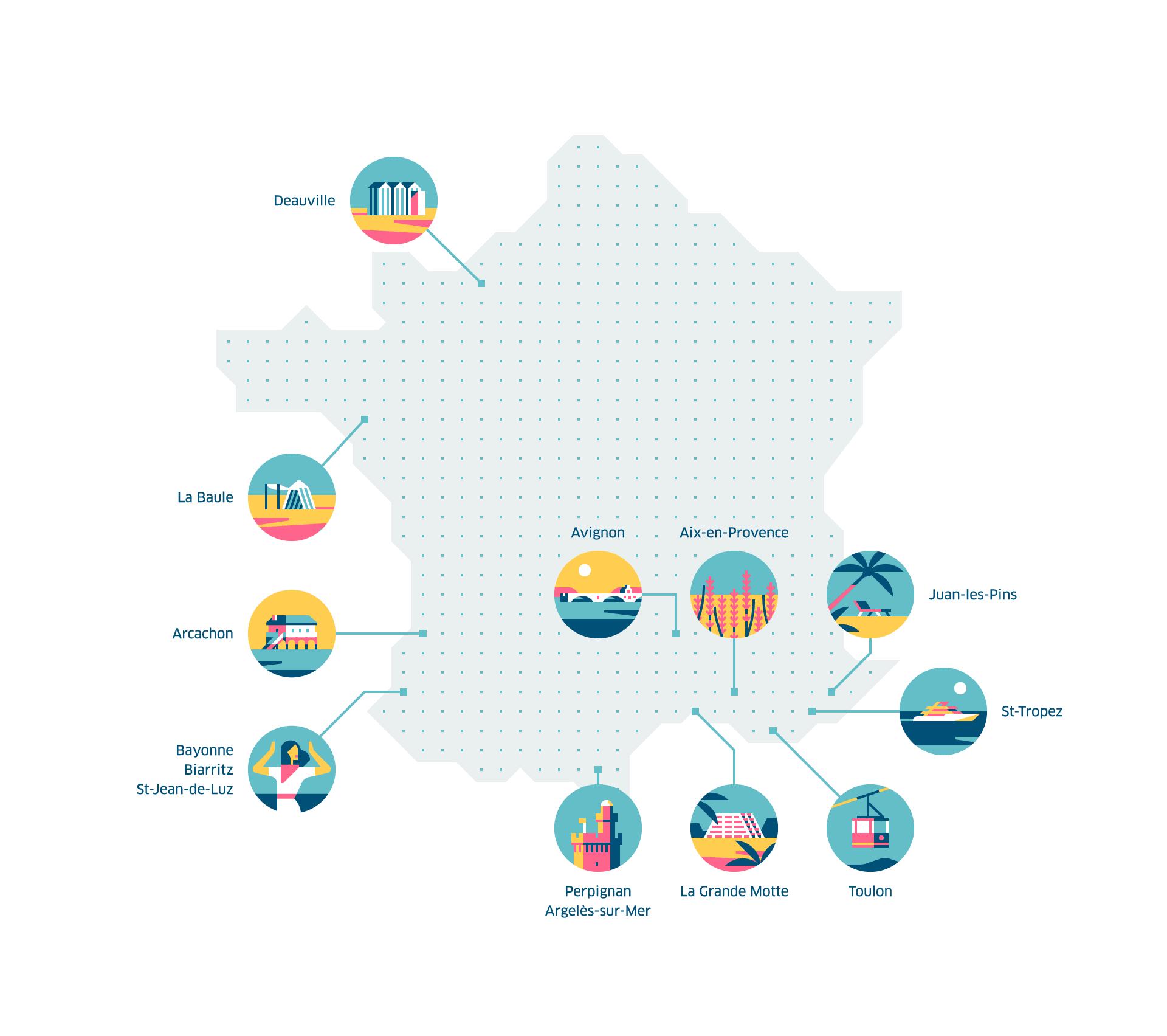 Découvrez Les Villes Où L'appli Uber Est Disponible | Uber Blog serapportantà Carte De France Grande Ville