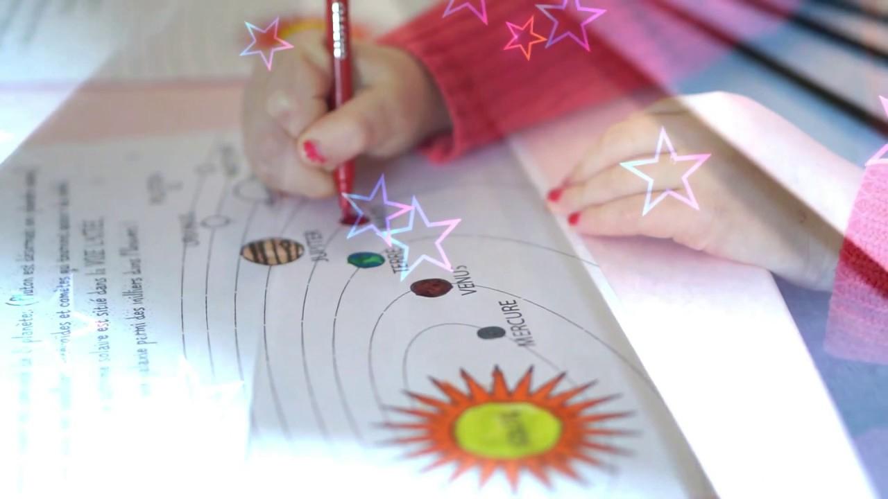 Découvrir Le Système Solaire En Dessinant destiné Dessin Du Système Solaire