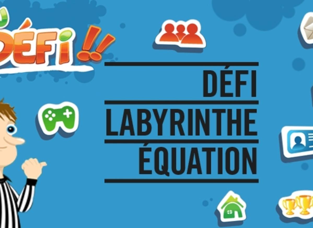 Défi Labyrinthe Équation - Jeu - Mathématiques, tout Jeux De Labyrinthe Gratuit
