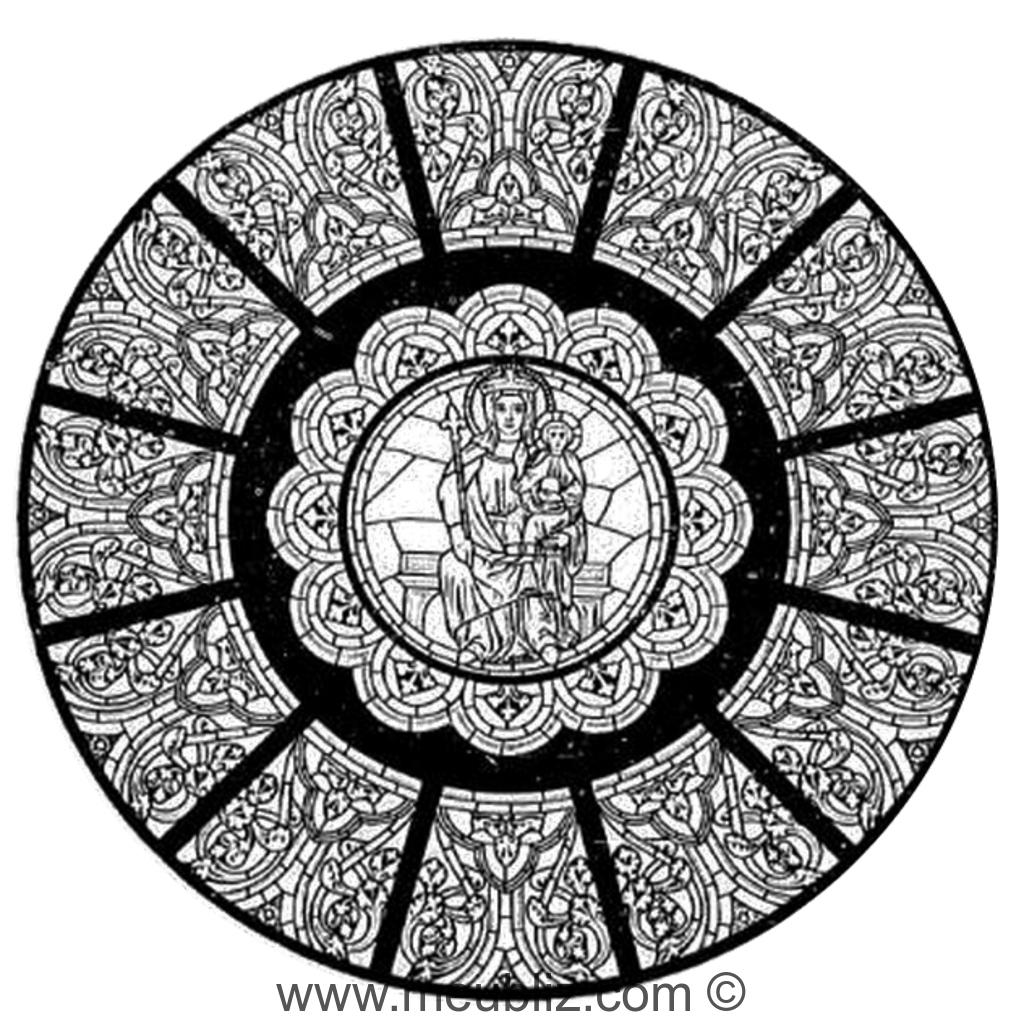 Définition D'une Rosace serapportantà Image De Rosace