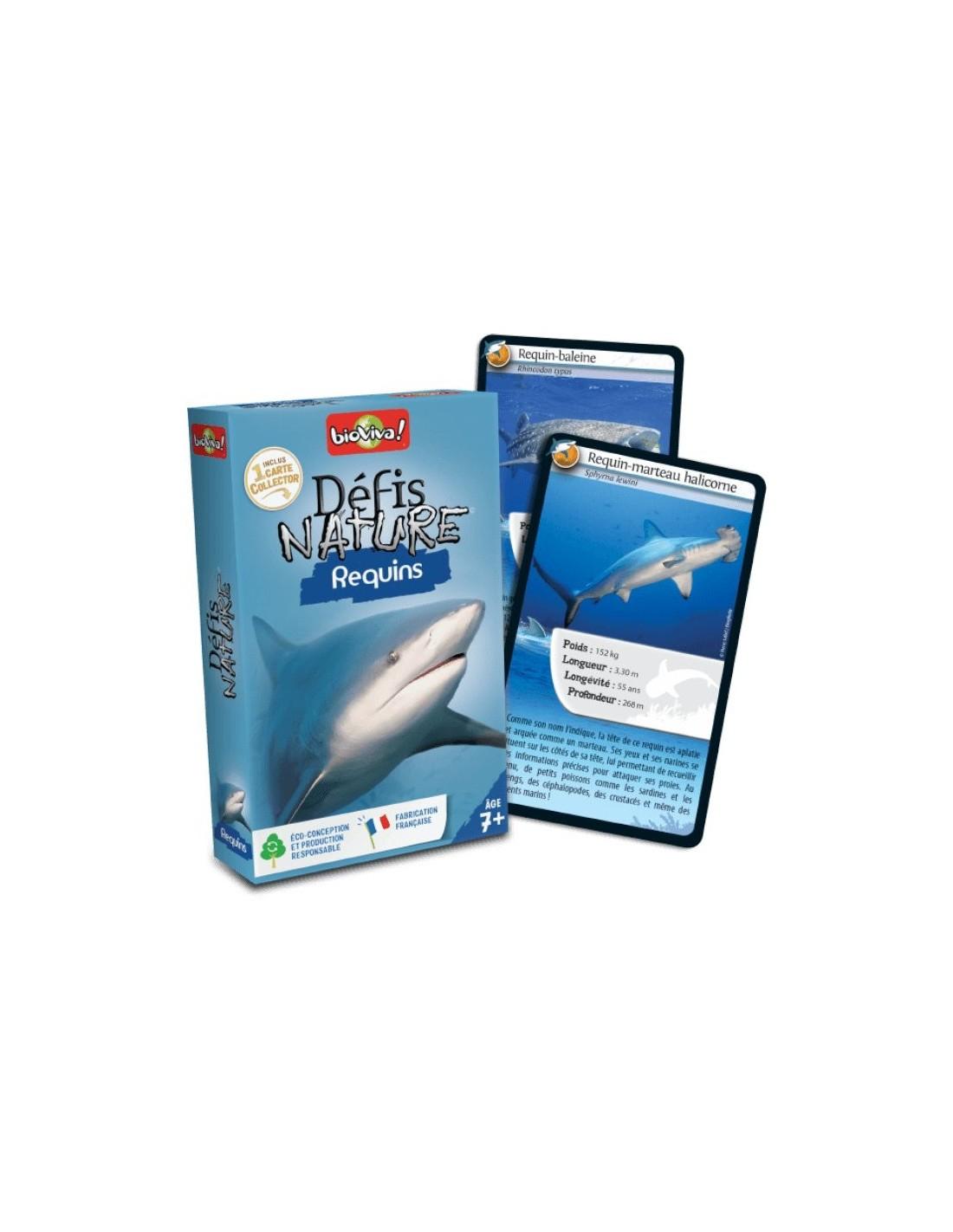 Défis Nature Requins - Bioviva intérieur Jeu De Societe Requin