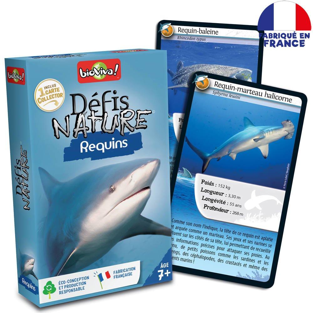 Defis Nature - Requins | Jeux De Societe | Jouéclub pour Jeu De Societe Requin