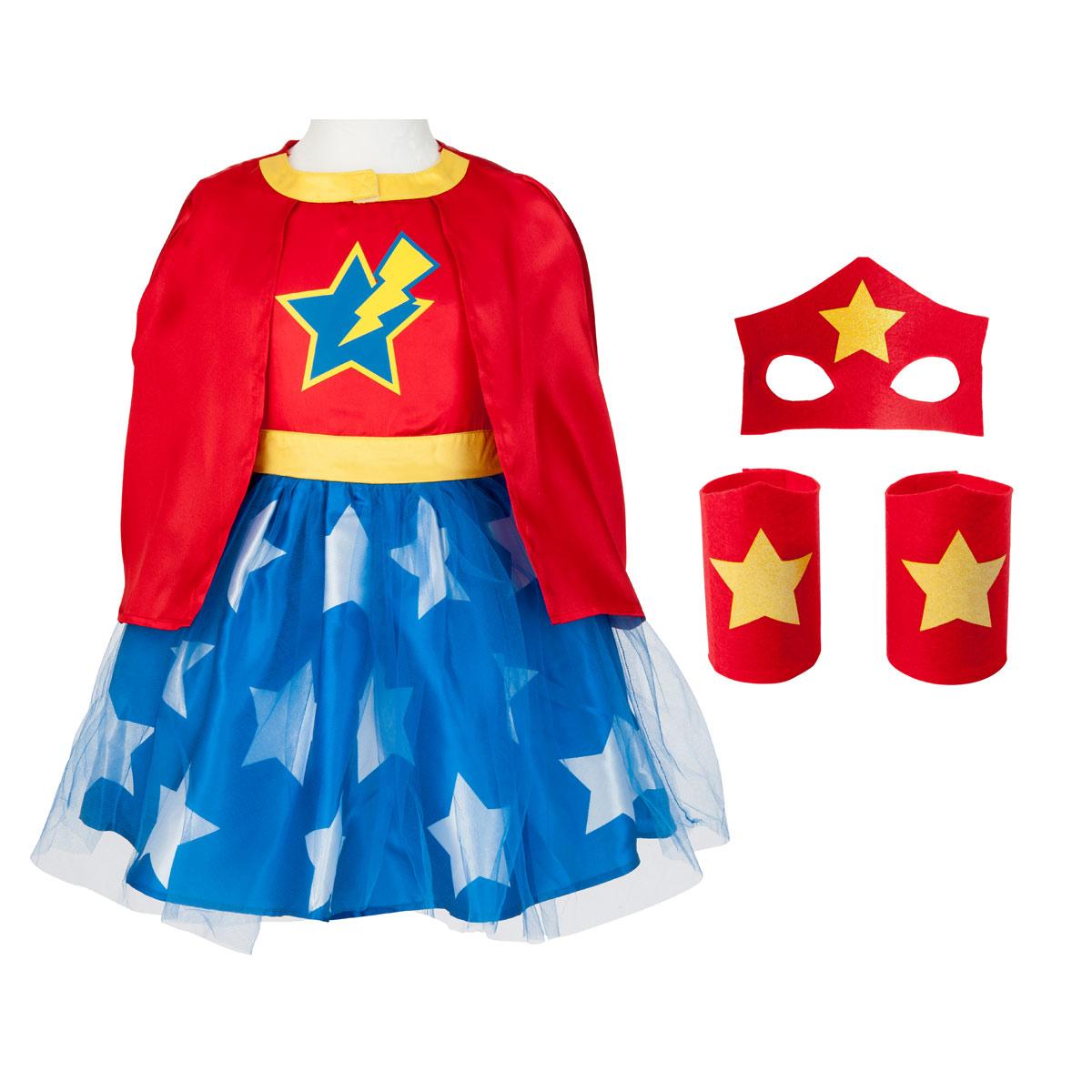 Déguisement Super Girl Héros 3-5 Ans à Jeux Gratuit Pour Garçon De 5 Ans