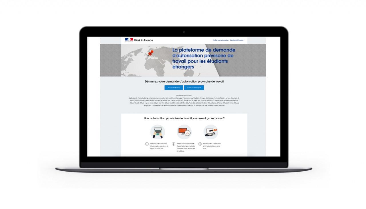 Demande D'autorisation Provisoire De Travail Pour Étudiant destiné Carte De France A Remplir