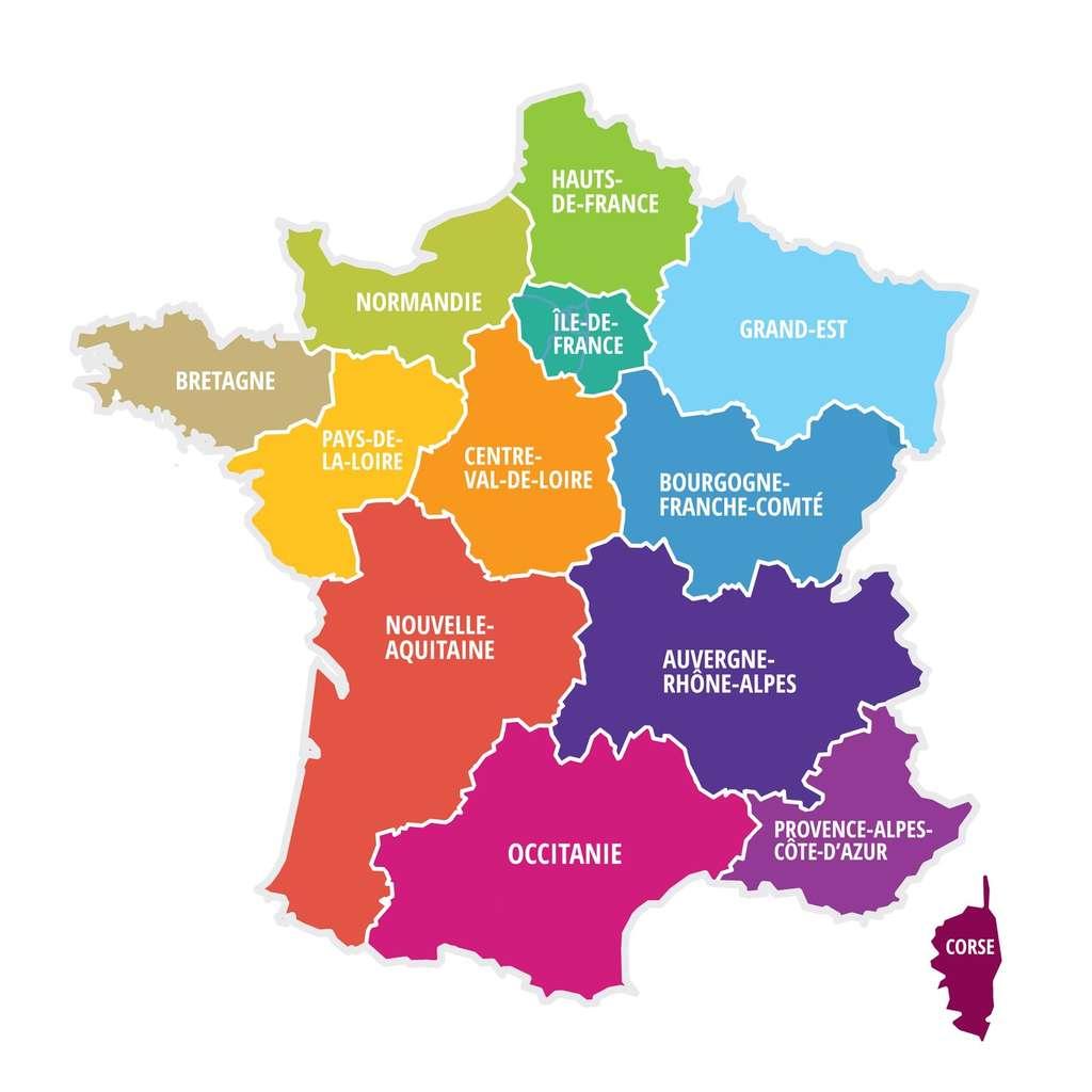 Démographie Française : Une Population Plus Âgée Et Plus destiné Nombre De Régions En France 2017
