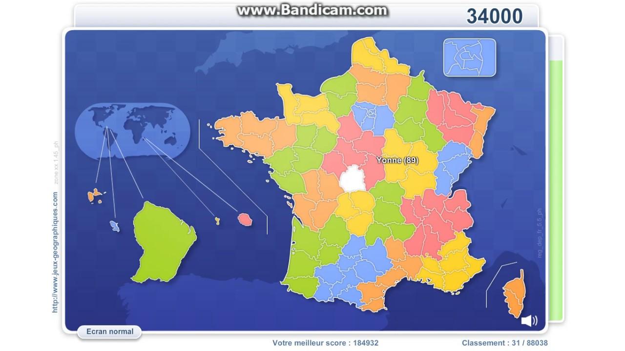 Départements Français (14E Tt) à Jeux Des Départements Français