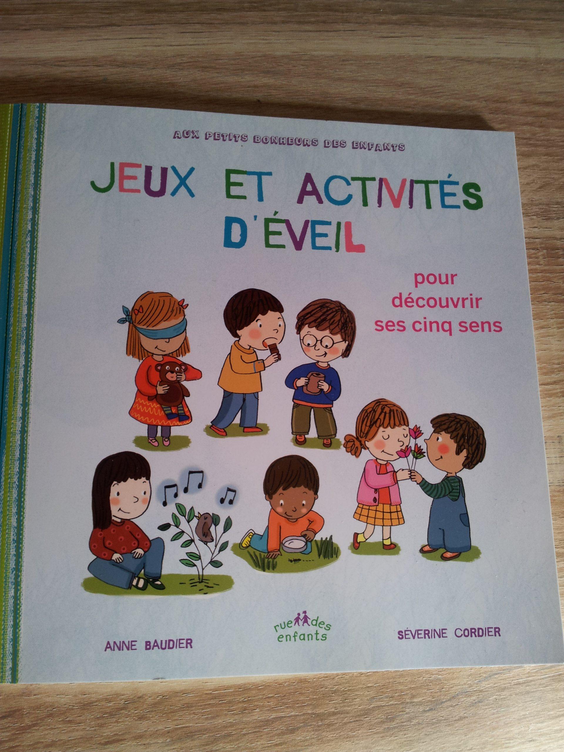 Dès 3 Ans ] Jeux Et Activités D'éveil Pour Découvrir Ses 5 avec Jeux Pour Petit Enfant