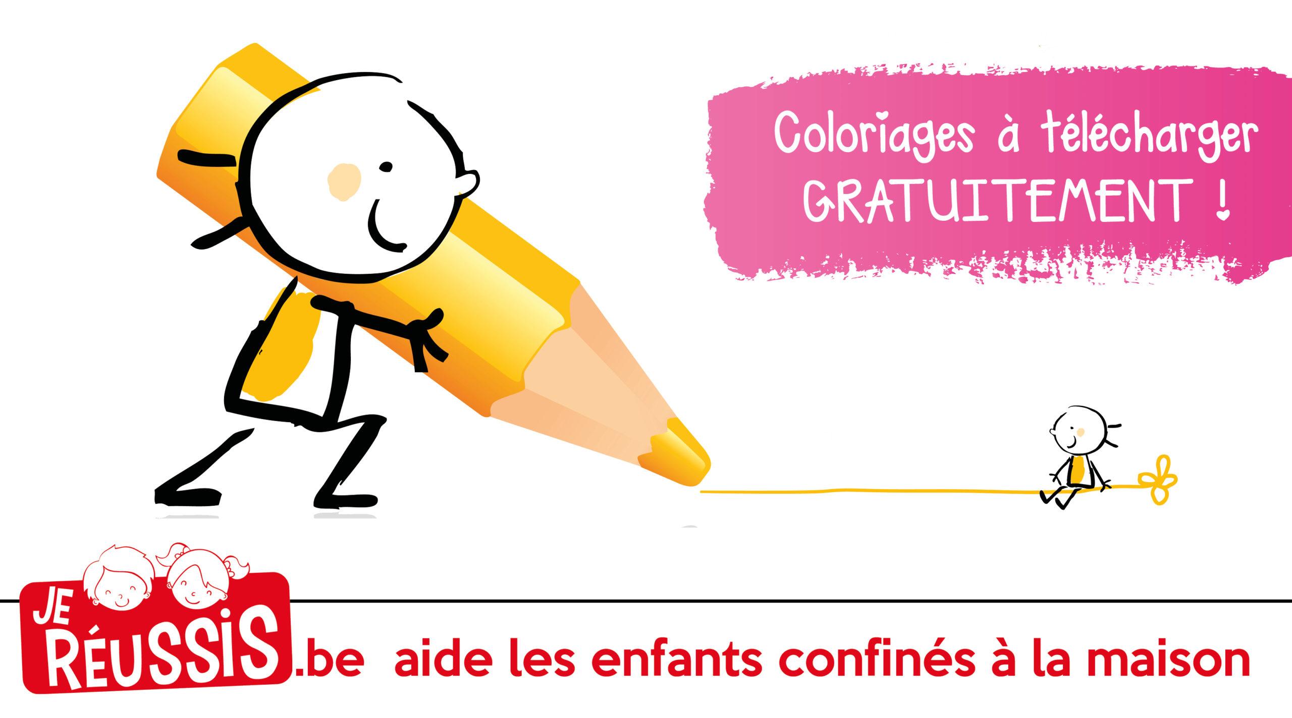 Des Coloriages Gratuits Pour Occuper Les Enfants ! - Je Réussis concernant Coloriage À Colorier Sur L Ordinateur Gratuit