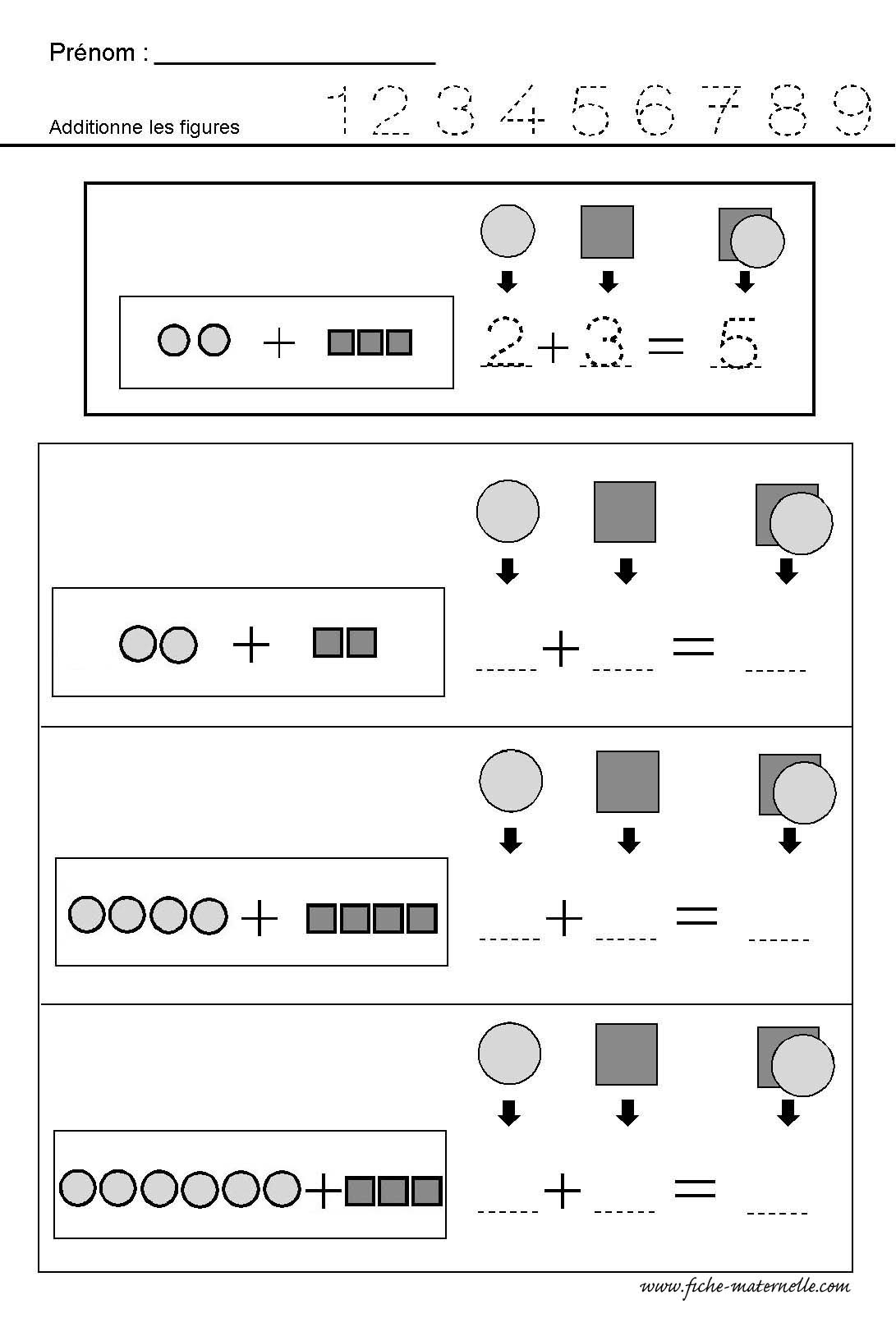 Des Formes Worksheet Collection | Printable Worksheets And dedans Exercice Maternelle Moyenne Section