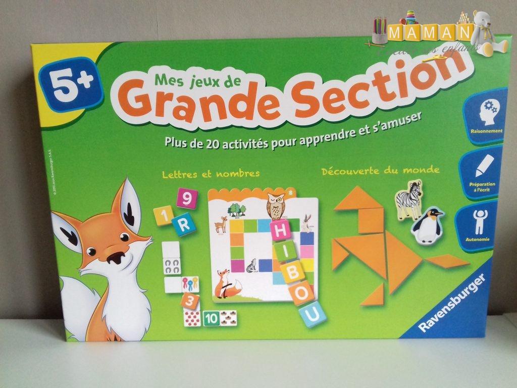 Des Jeux Éducatifs Au Top Pour Chaque Section De Maternelle intérieur Jeux Educatif Grande Section