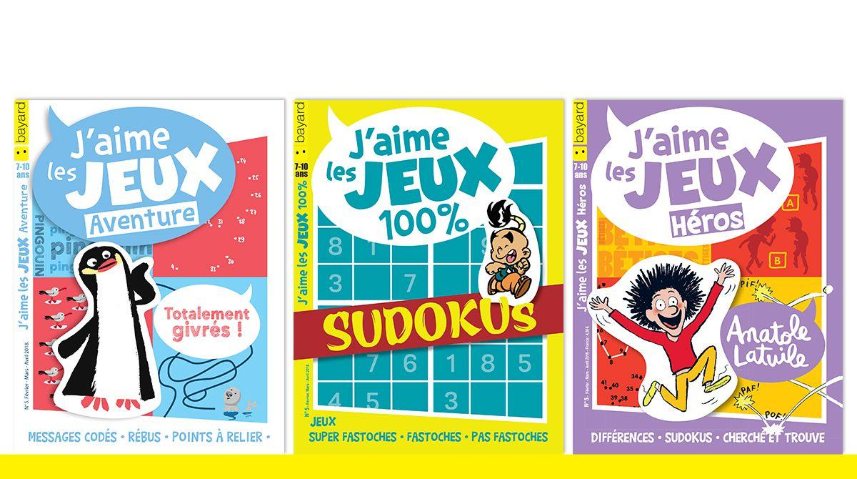 Des Jeux Pour Toutes Les Vacances ! - Bayard Jeunesse destiné Sudoku Animaux À Imprimer