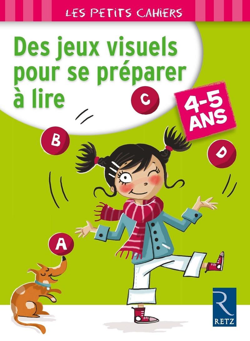 Des Jeux Visuels Pour Se Préparer À Lire - 4 - 5 Ans serapportantà Jeux Pour Les Petit De 5 Ans
