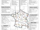 Des Liens Htlm/pdf Y Présentés Pour La Gastronomie Régionale tout Apprendre Les Régions De France