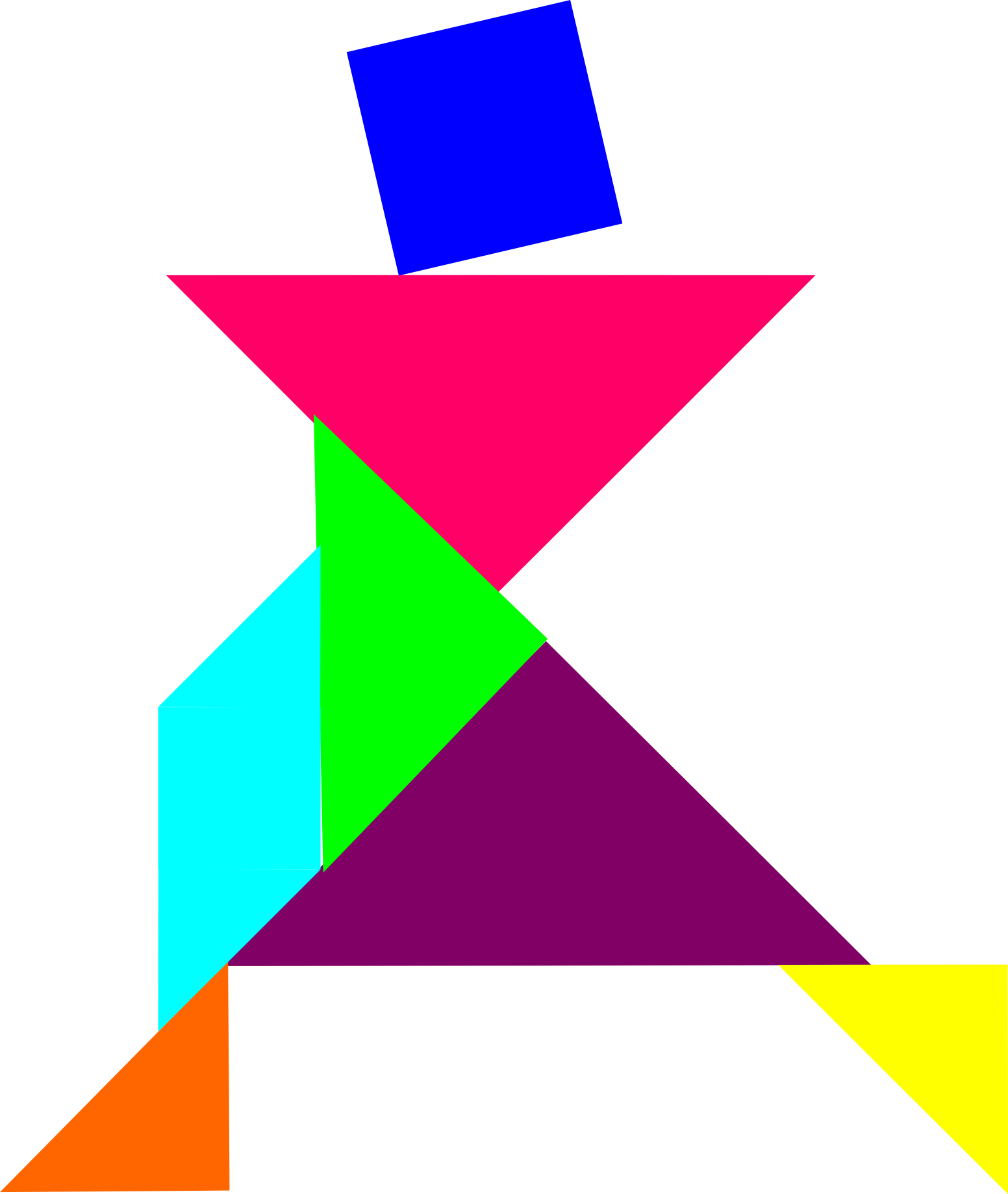 Des Logiciels Libres De Tangram Et Intérêts En Orthophonie dedans Tangram Modèles Et Solutions