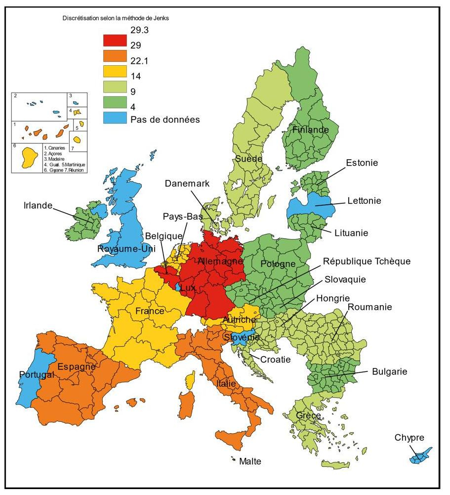 Des Régions Territoriales Aux Régions Fonctionnelles, Une dedans Anciennes Régions