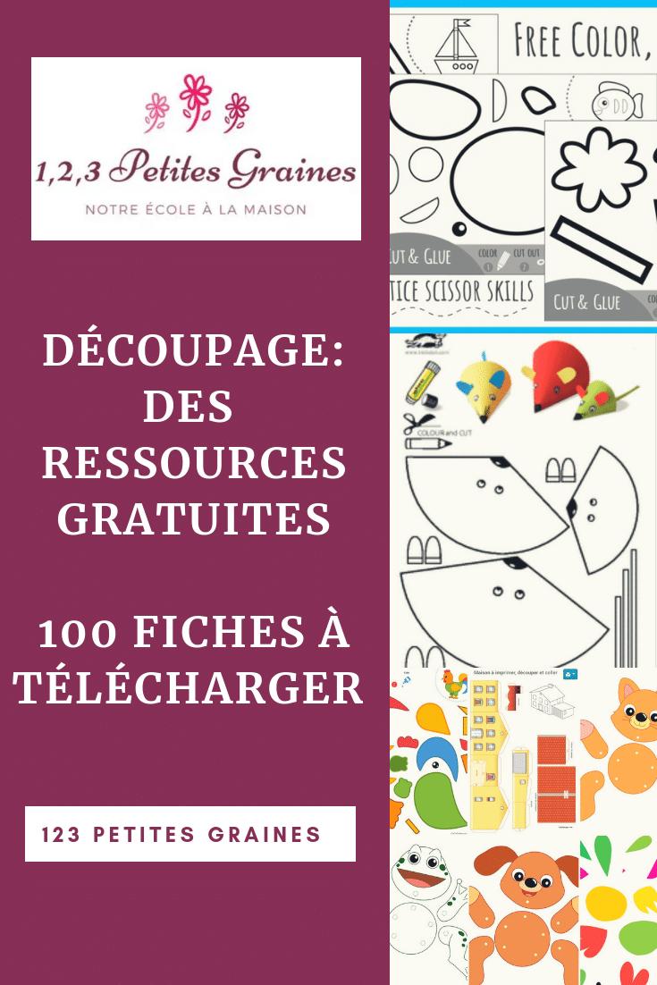 Des Ressources Gratuites Pour Apprendre À Découper - 1,2,3 serapportantà Découpage Maternelle À Imprimer