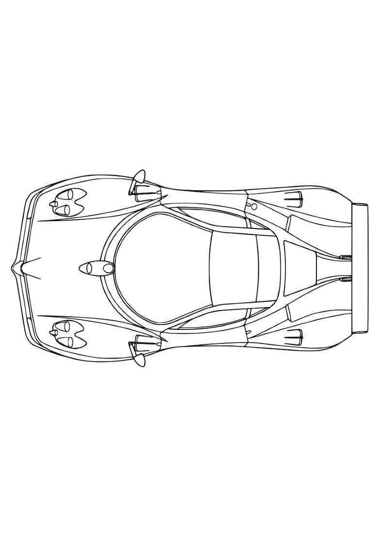Dessin #923 - Coloriage Ferrari À Imprimer - Oh-Kids encequiconcerne Ferrari A Colorier