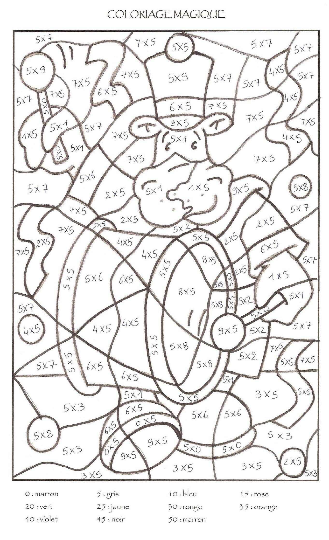 Dessin À Colorier Magique Lecture Cp À Imprimer à Jeux Educatif Ce1 A Imprimer