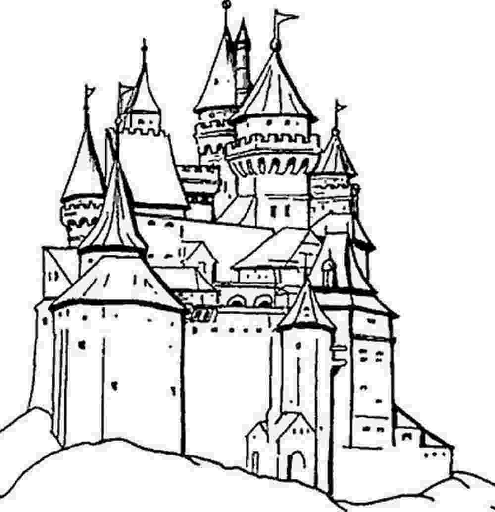 Dessin A Imprimer Chateau Princesse tout Chateau Princesse Dessin
