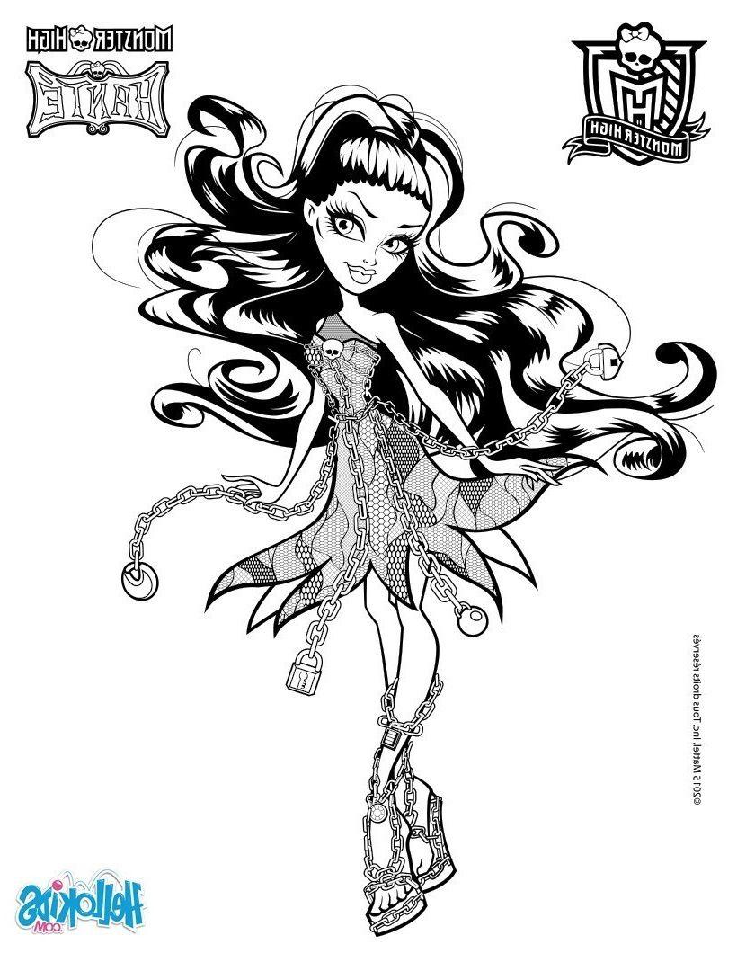 Dessin A Imprimer Monster High Nouveau Coloriage Ogre pour Image Monster High A Imprimer