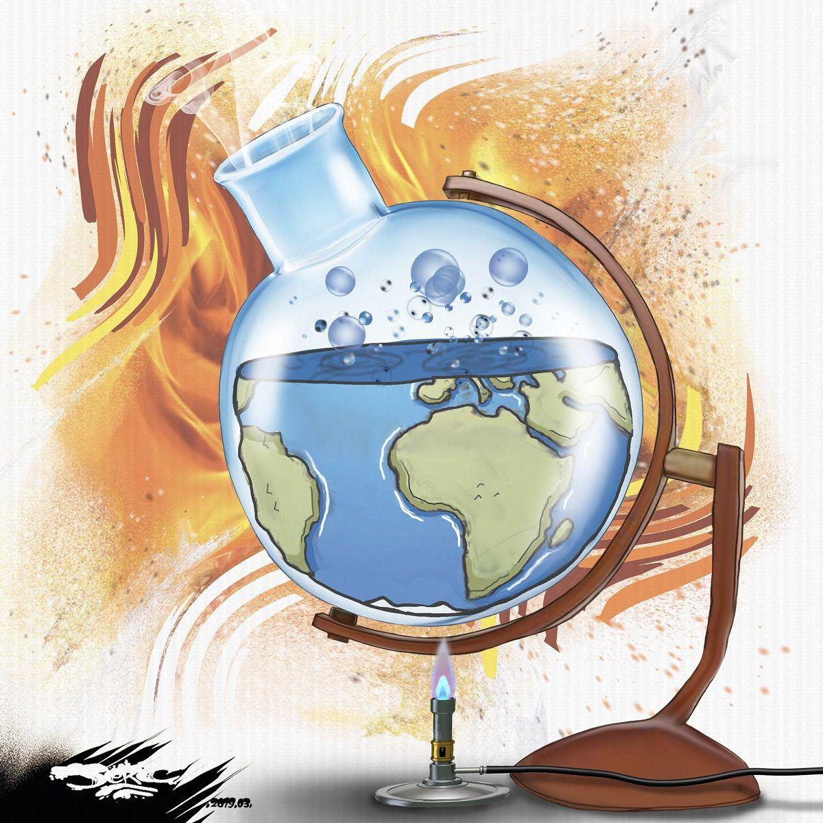 Dessin D'actualité, Terre, Blague Sur La Terre avec Image De La Terre Dessin
