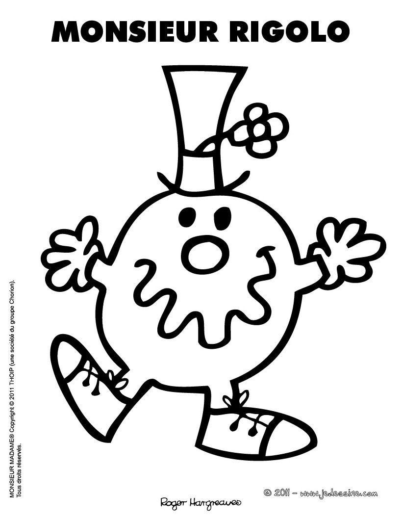 Dessin D'anniversaire Rigolo Unique Monsieur Rigolo Coloring concernant Coloriage Mr Patate
