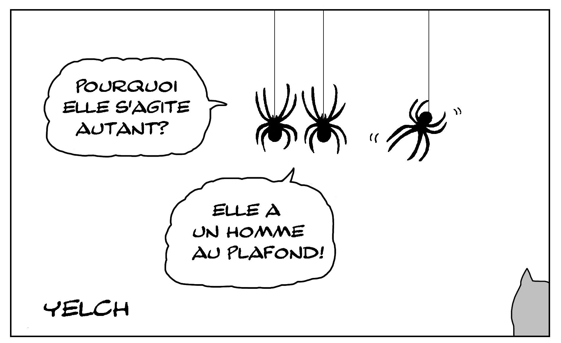 Dessin D'arachnides – Blagues Et Dessins concernant Dessiner Une Araignee